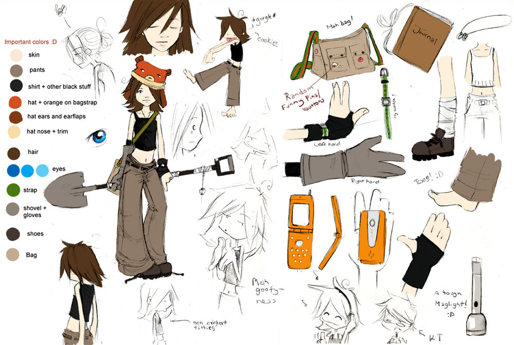 Jenny First Character Sheet
